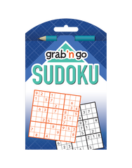 Grab 'n Go Sudoku #18: Turquoise-Midnight