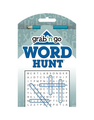 Grab 'n Go Word Hunt™ #15: Denim Slate