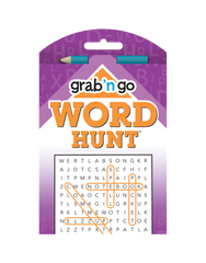 Grab 'n Go Word Hunt™ #16: Peach-Plum