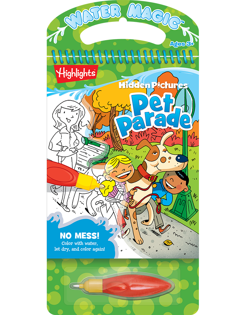 Water Magic® Highlights™ Hidden Pictures™: Pet Parade | Beaver Books ...