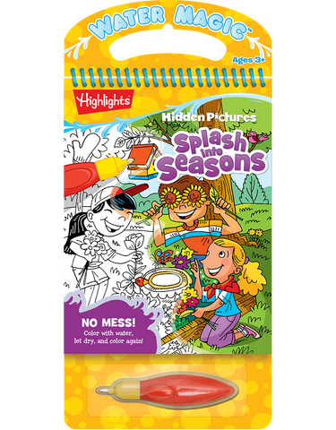 Water Magic® Highlights™ Hidden Pictures™: Splash into Seasons