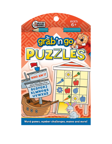Jr. Grab 'n Go Puzzles: Red Pirate Ship