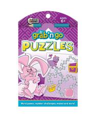 Jr. Grab 'n Go Puzzles: Purple Bunny