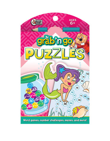 Jr. Grab 'n Go Puzzles: Magenta Mermaid