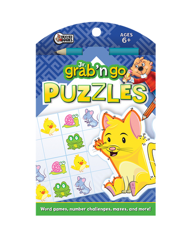Jr. Grab 'n Go Puzzles: Indigo Cat