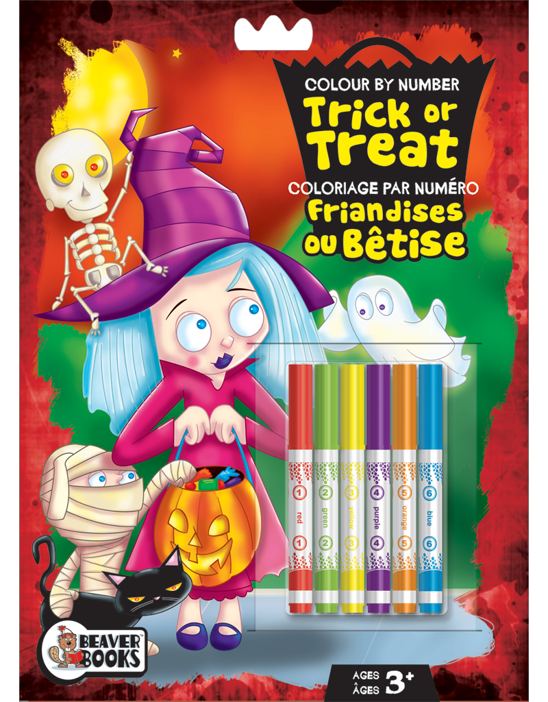 Color-by-Number with Markers: Trick or Treat