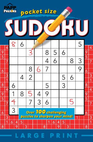 Pocket Size Sudoku #2: Blueberry-Cherry