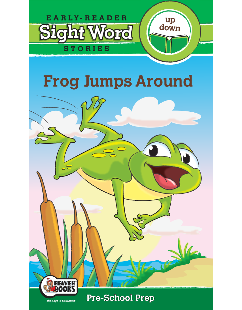 Sight Word Stories: Frog Jumps Around eBook