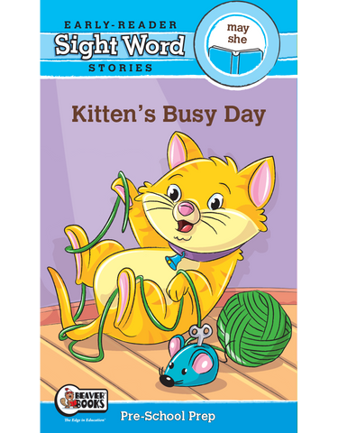 Sight Word Stories: Kitten's Busy Day eBook