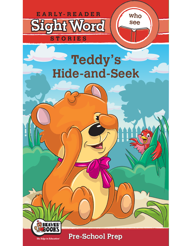 Sight Word Stories: Teddy's Hide and Seek eBook