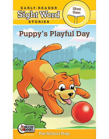 Sight Word Stories: Puppy's Playful Day eBook