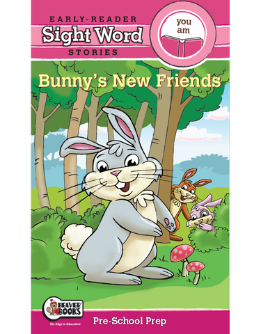 Sight Word Stories: Bunny's New Friends eBook