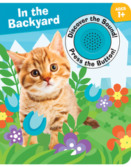 Discover the Sound Board Books: In the Backyard