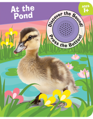 Discover the Sound Board Books: At the Pond
