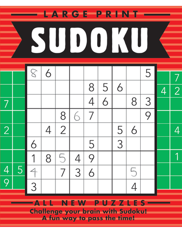 Large Print Sudoku #12: Holly-Pine