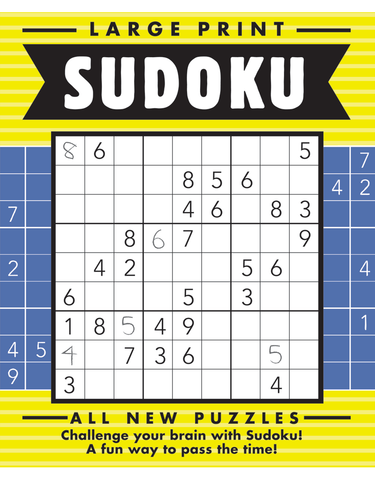 Large Print Sudoku #15: Bright-Night