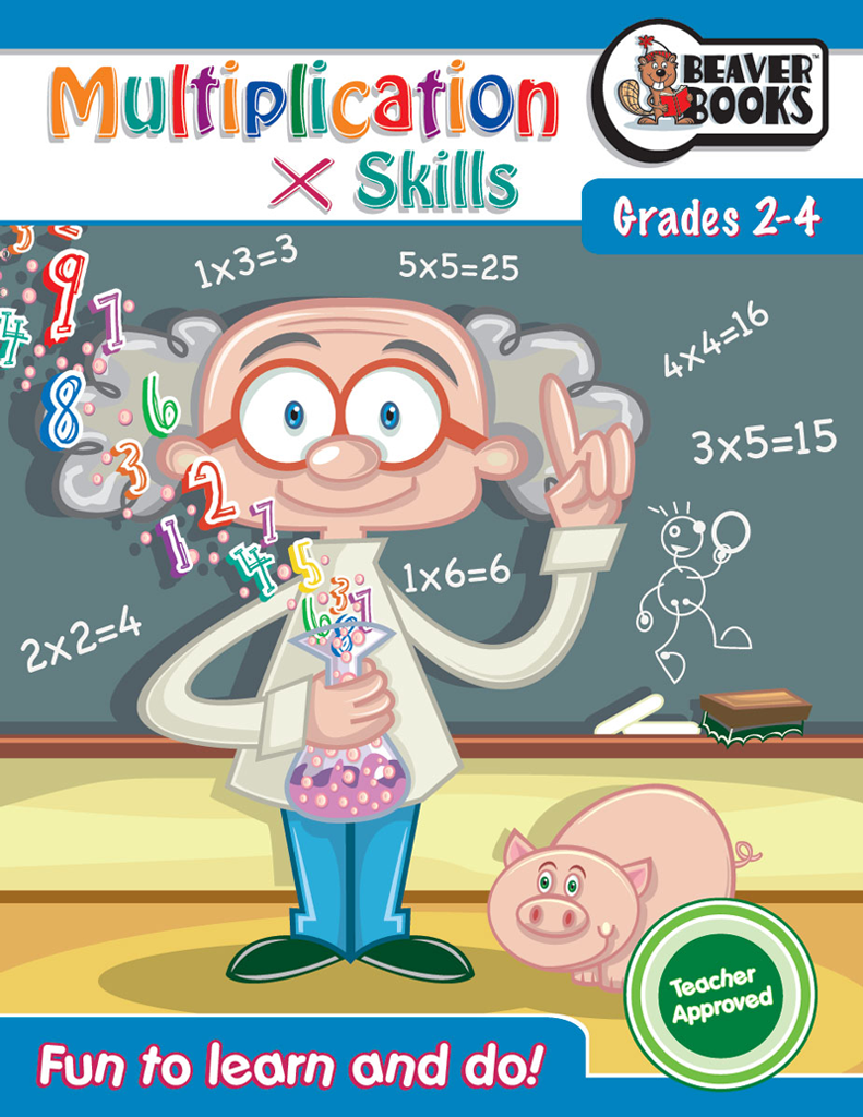 Original Workbooks: Multiplication Skills Grades 2-4