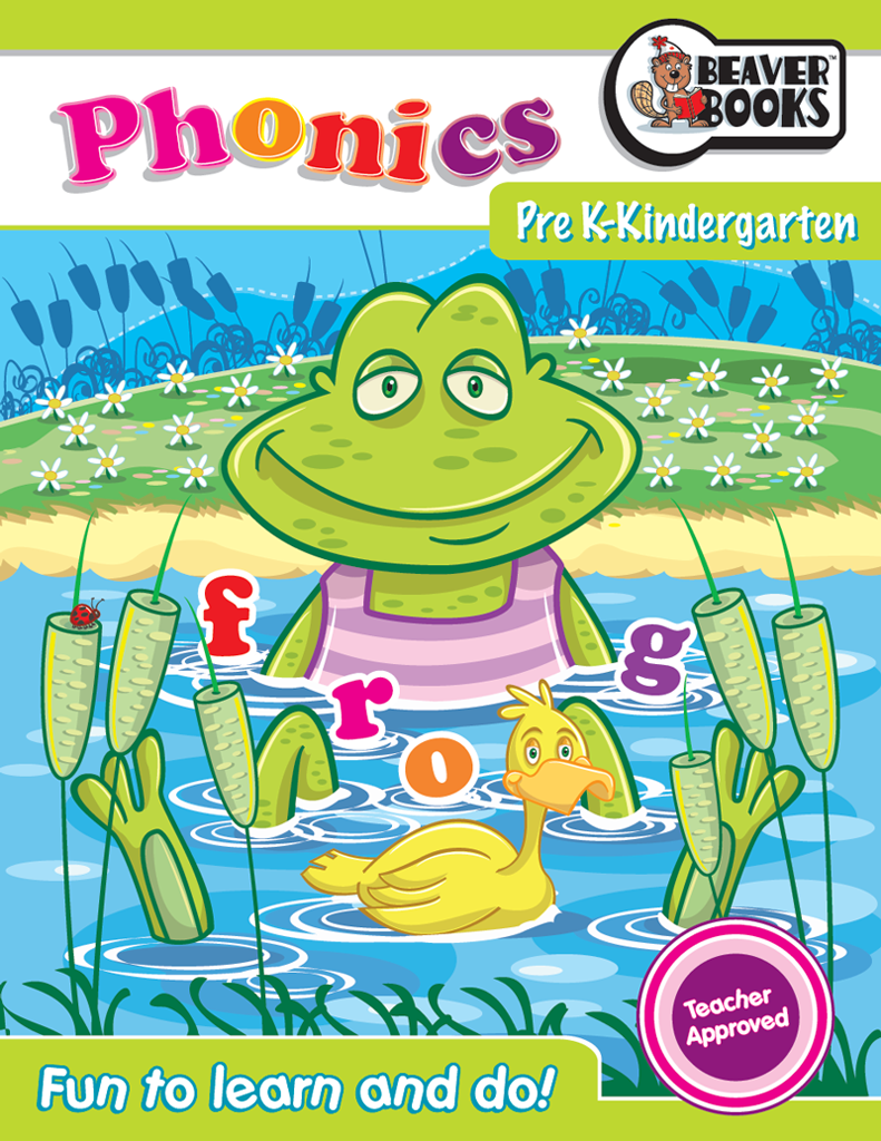 Original Workbooks: Pre K-K Phonics | Beaver Books Publishing