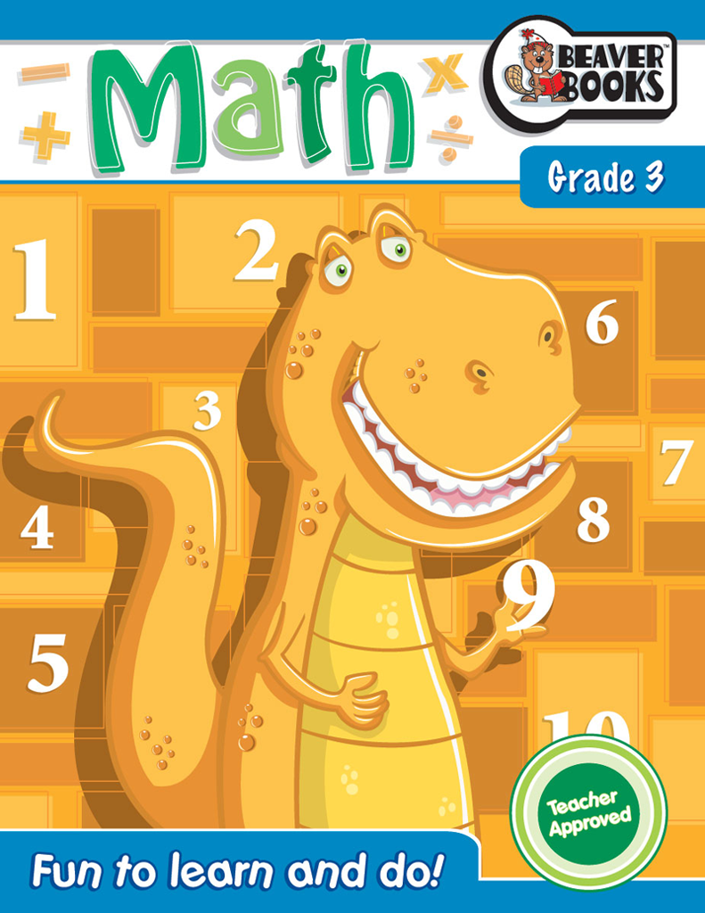 Original Workbooks: Math Grade 3 | Beaver Books Publishing