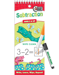 Wipe-Clean: Subtraction