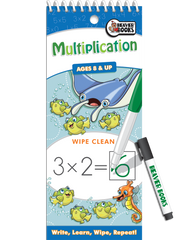 Wipe-Clean: Multiplication