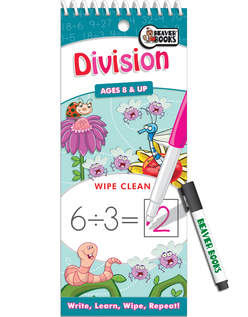 Wipe-Clean: Division | Beaver Books Publishing