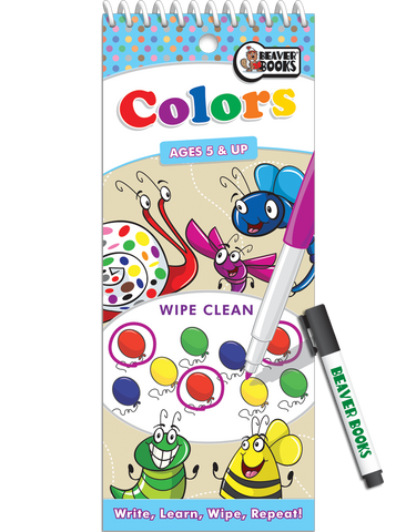 Wipe-Clean: Colors