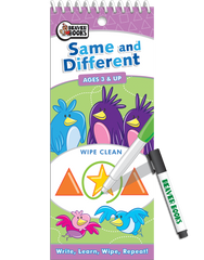Wipe-Clean: Same and Different