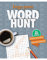 Large Print Word Hunt™ #21: Dove-Knit