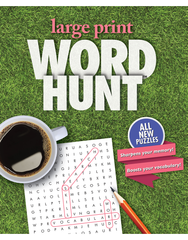 Large Print Word Hunt™ #23: Green Grass