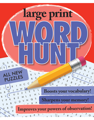 Large Print Word Hunt™ #25: Hydrangea-Hot