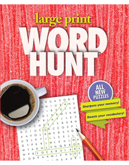 Large Print Word Hunt™ #31: Sugary Sweet