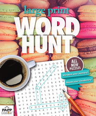 Large Print Word Hunt™  #52: Macaroon Delight