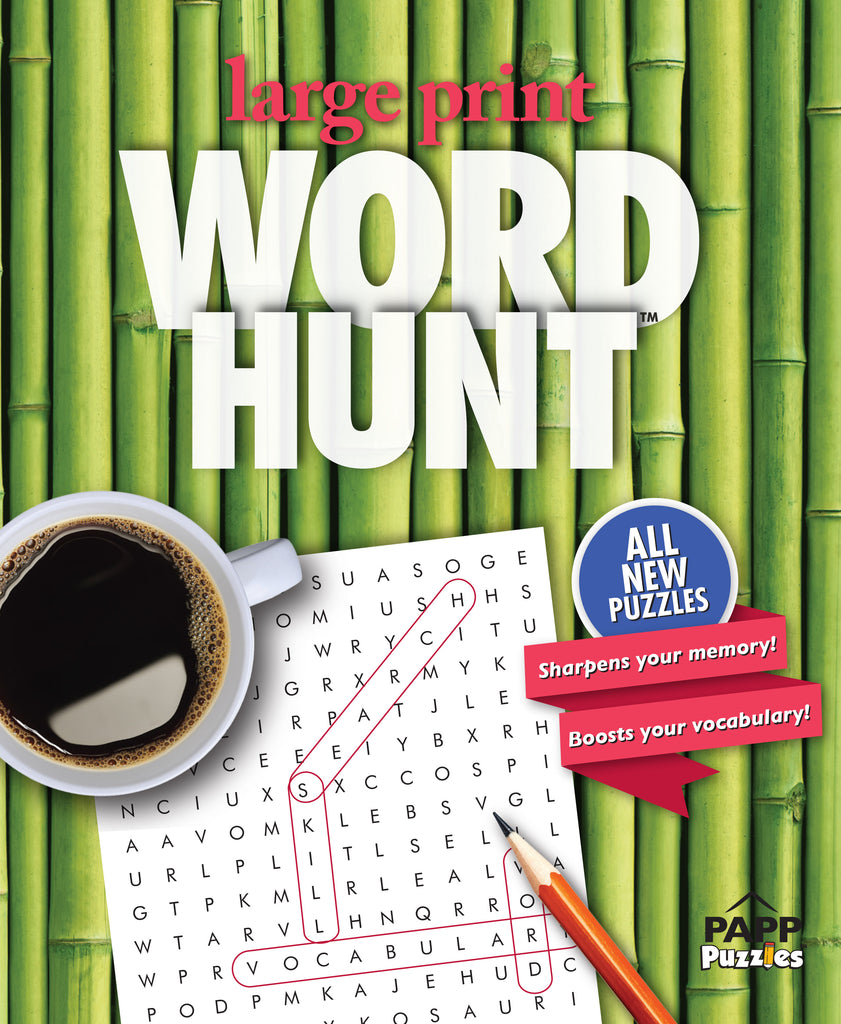 Large Print Word Hunt™  #61: Bamboo Harmony