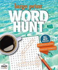 Large Print Word Hunt™  #84: Florida Cay