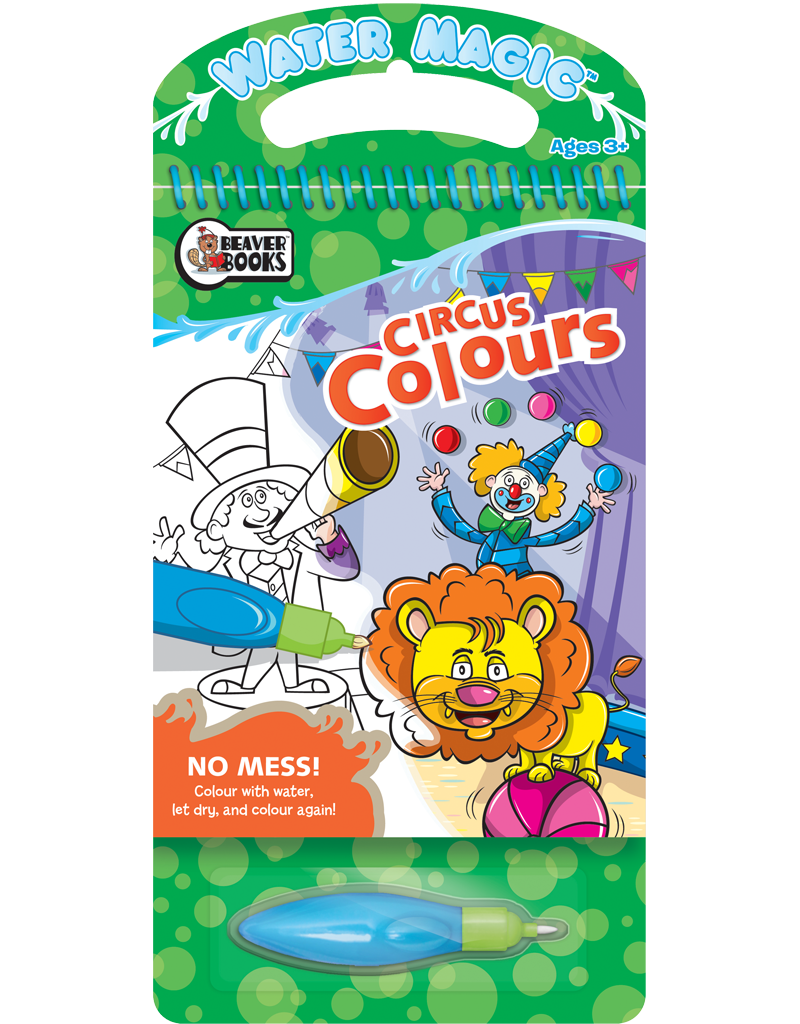 Water Magic® Discovery: Circus Colors | Beaver Books Publishing