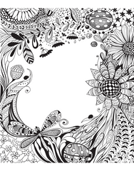 Creative Coloring: Enchanting Motifs