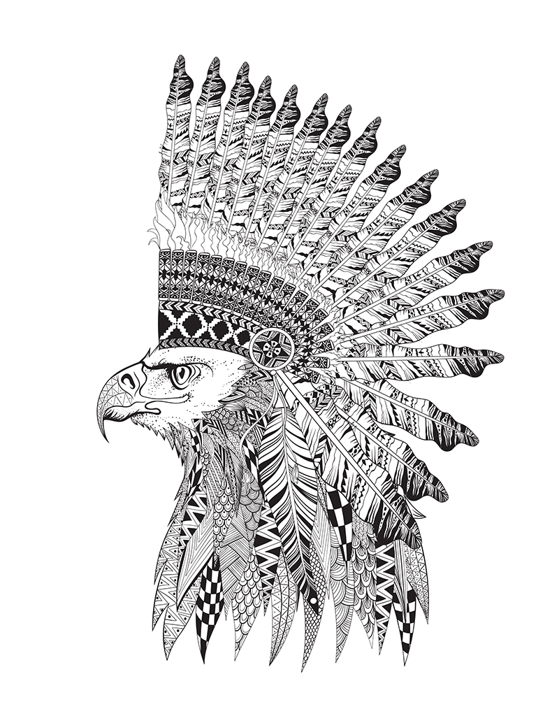 Tribal Coloring Pages Creative Coloring Tribal Karma  Beaver Books Publishing