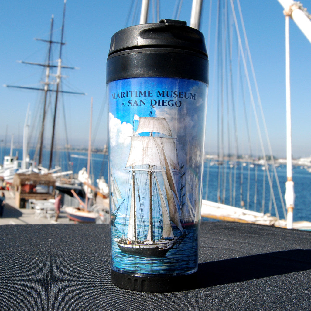 Californian, HMS Surprise and Star of India Tumbler