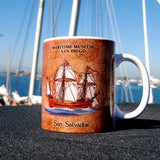 San Salvador antique style Coffee Mug
