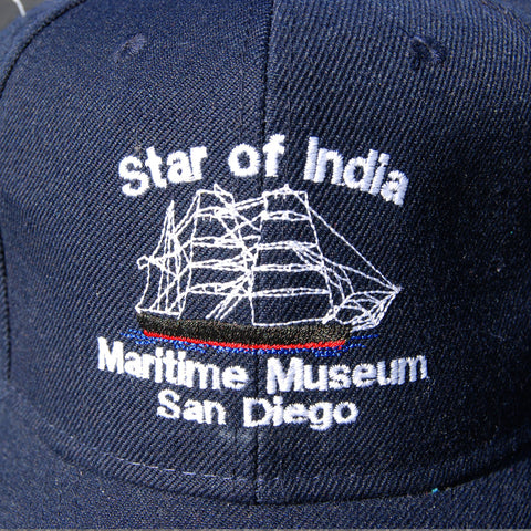 Star of India Ball Cap - Navy Blue