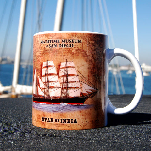 Star of India antique style Coffee Mug