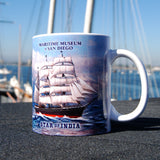 Star of India on the high seas Coffee Mug