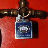 Star of India metal fob keychain with museum logo on back.
