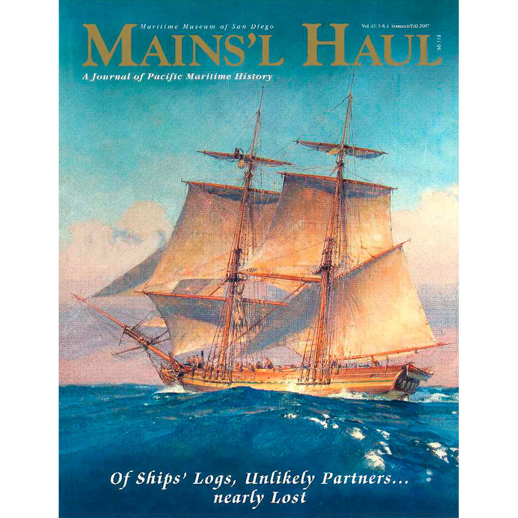 Mains'l Haul - Of Ships' Logs, Unlikely Partners