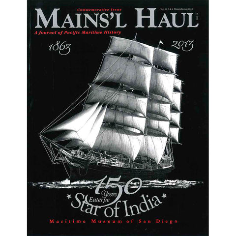 Mains'l Haul - Euterpe/Star of India 150th Commemorative Issue