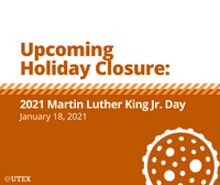Upcoming Holiday Closure: 2021 Martin Luther King, Jr. Day