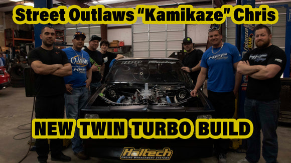 STREET OUTLAWS 'KAMIKAZE CHRIS' - TWIN TURBO ELCO BUILD