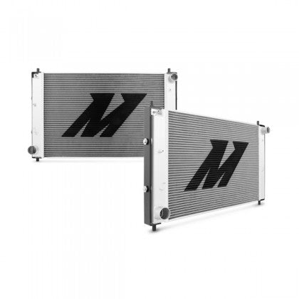 Mishimoto - (1997-2004) Mustang Aluminum Radiator with Stabilizer System (Manual Transmission)