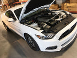 ON3 Performance - (2015–2017) Mustang GT 5.0 2nd Gen Top Mount Twin Turbo System – S550